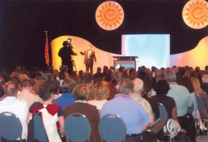 Keynote Speakers are often chosen by Meeting Planners for Sales Meetings and Sales Training